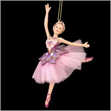 sugar plum ballerina ornament hobbies ornaments