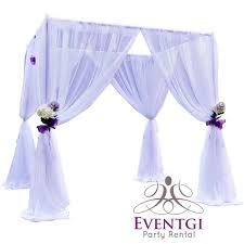 chuppah dimensions wedding chuppah rental in miami broward and palm fl