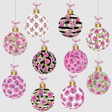 ornaments clipart watercolor floral