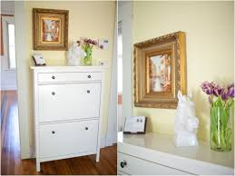 Entryway Furniture Ikea Ikea Hemnes Shoe Cabinet Bungalow Home Staging U0026 Redesign