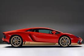 Lamborghini Aventador Features - special lamborghini aventador celebrates 50 years of the miura