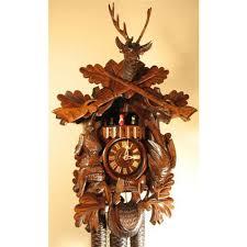 8 day musical cuckoo clocks hand carved german clocks
