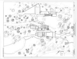 site plan fallingwater ohiopyle fayette county pa frank