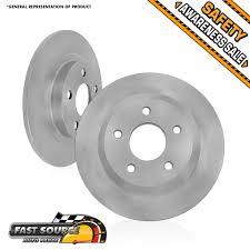 lexus is 250 rotors rear 291 mm premium replacement oe brake disc rotors 2006 2012