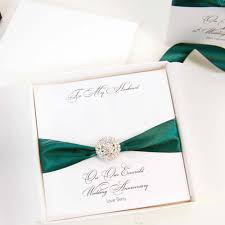 55th wedding anniversary personalised 55th wedding anniversary cards and emerald