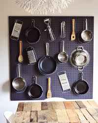How To Organize A Kitchen Cabinets Pegboard Organizing Ideas Creative Ways To Use Pegboards