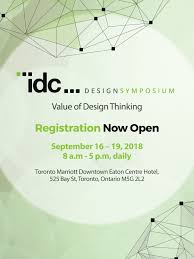 design event symposium registration now open idc design symposium value of design
