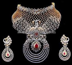 diamond set tremendous diamond set by kothari jewelry jewellery designs