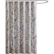 Luxurious Grey Seafoam Jacquard Waffle Gray U0026 Silver Shower Curtains You U0027ll Love Wayfair