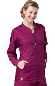 eon s coolmax mesh panel solid scrub jacket allheart