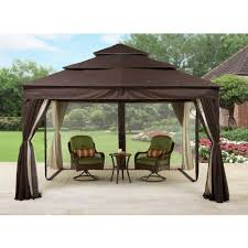 Walmart Bbq Grill Gazebo by Gazebos Pergolas Walmart Com Better Home And Garden Archer Ridge