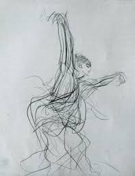 a bow to gesture drawing venetian red art blog