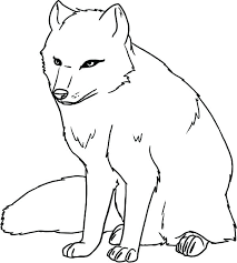 animal jam arctic wolf coloring pages to print coloring page cartoon