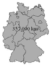 fl che deutschland regenerative energieversorgung strahlungsleistung aud die erde