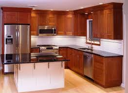 Cherry Kitchen Cabinets With Granite Countertops  Kitchen  Bath - Light cherry kitchen cabinets