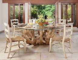 tree trunk dining table dining room contemporary dining room other by elad gonen