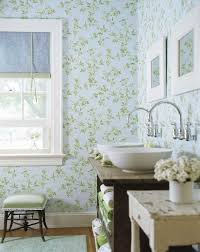 Wallpapered Bathrooms Ideas 17 Best Paper The Powder Room Images On Pinterest Wallpaper