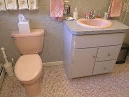 Gerber Bathroom Sinks - mary elizabeth u0027s year long little by little 1959 pink bathroom