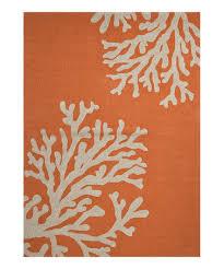 Jaipur Outdoor Rugs Take A Look At This Orange Coral Reef Rug By Jaipur Rugs On