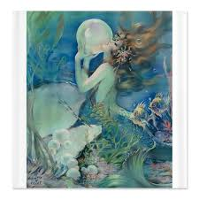 mermaid shower curtain ideas design of mermaid shower curtain