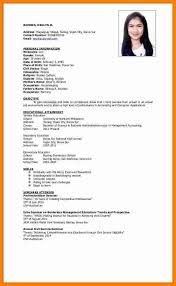 On The Job Training Resume by Bold Idea Ojt Resume 13 Sample Resume For Ojt Student Information
