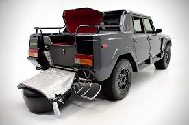 lamborghini pickup truck before urus there was this stealthy lamborghini lm 002 the rambo