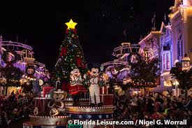 christmas in orlando disney world epcot universal