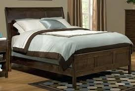 King Size Headboard And Footboard Headboard And Footboard Alder Flat Panel Sleigh Bed By Headboard