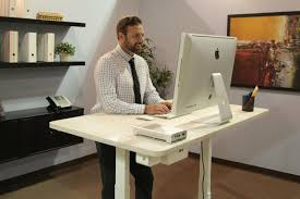 Stand Up Desk Kickstarter Smartdesk World U0027s First Smart Standing Office That Talks And