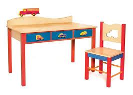 amazon com room magic desk chair set boys like trucks natural baby