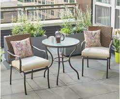 Home Depot Patio Table And Chairs Bistro Table Sets Interior And Home Ideas