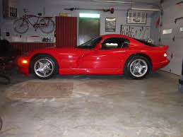 Dodge Viper Red - 1997 viper gts full detail