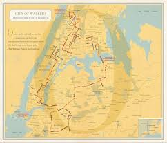 New York Street Map by Rebecca Solnit Redraws New York Subway Map With Women Artnet News
