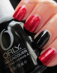 iheartprettypolish girls night out nails china glaze ruby pumps