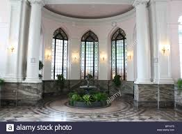 indoor garden greenhouse palm room casa loma stock photo royalty