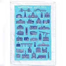 cities kitchen towel minnesota historical society