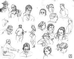 random sketches by zurdom on deviantart