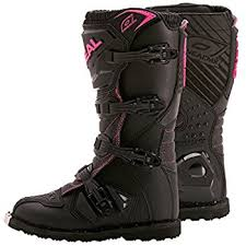 womens motorcycle boots size 11 amazon com fox comp 5 womens mx offroad boots black pink 5