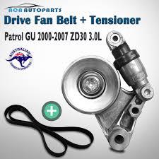 drive fan belt tensioner fit nissan patrol gu y61 zd30 3 0 4cyl