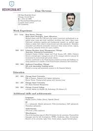 format of an resume cv template finance financial accountantlatest