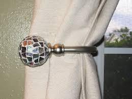 Curtain Holdback Ideas Curtain Holdbacks Metal Curtain Holdbacks With Outstanding For