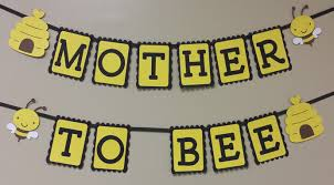 what will it bee baby shower baby shower banner to bee what id party designs