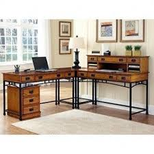 L Shape Desks L Shaped Glass Desk With Drawers Foter