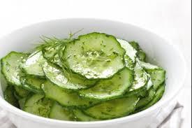 comment cuisiner un concombre recette de salade de concombre mariné facile et rapide