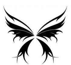 tribal butterfly designs clipart best throughout tribal