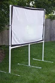 how to make a backyard movie screen home design u0026 interior design