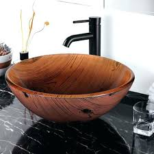 sink bowls on top of vanity wooden sink bowl sinks sink bowls on top of vanity bathroom vessel