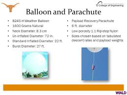 balloon a grams high altitude balloon multi payload project ppt online