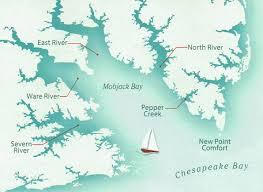 Chesapeake Bay Map Knot Workin Knot Workin Nordic Tug 37