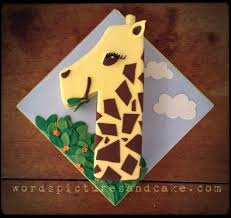giraffe cake giraffe number 1 cake words pictures cake